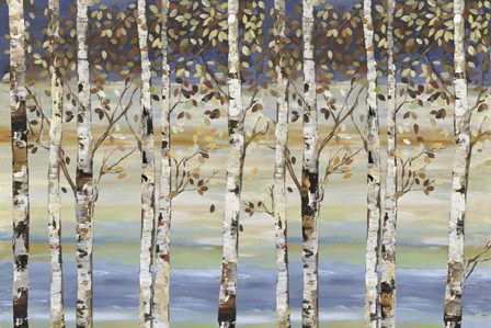 Dark Birch III by Allison Pearce art print