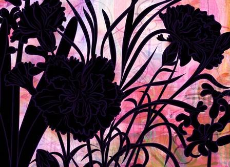 Carnation Creation F by Delores Naskrent art print