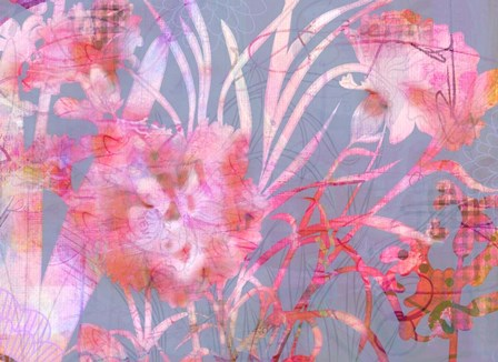 Carnation Creation G by Delores Naskrent art print