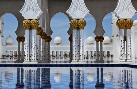 Abu Dhabi by Duncan art print