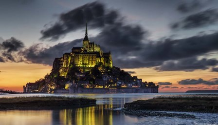 Mont Saint Michel France by Duncan art print