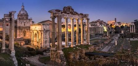 Forum Romanum Rome by Duncan art print