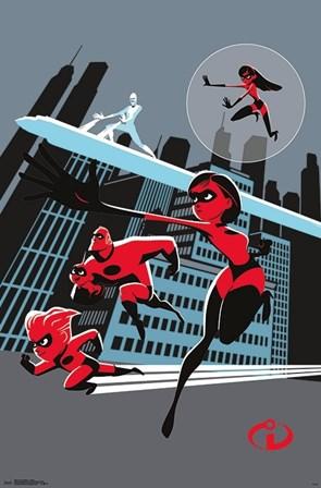Incredibles 2 - Artistic art print
