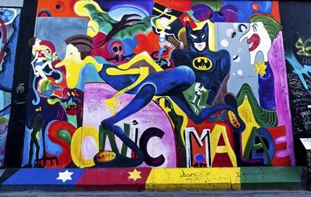 Berlin Wall by Duncan art print