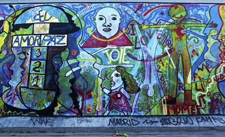 Berlin Wall 2 by Duncan art print
