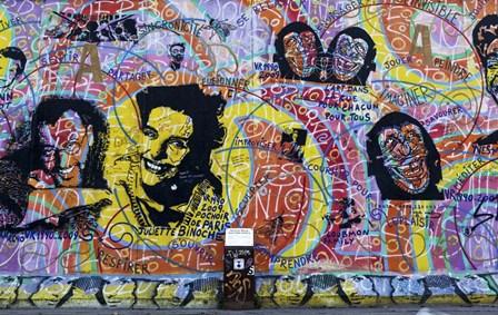 Berlin Wall 3 by Duncan art print