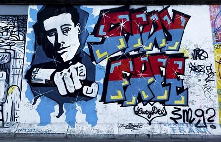 Berlin Wall 4 by Duncan art print