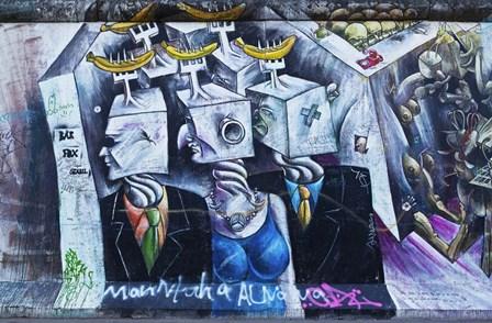 Berlin Wall 8 by Duncan art print