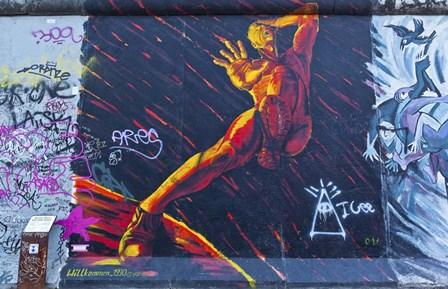 Berlin Wall 11 by Duncan art print
