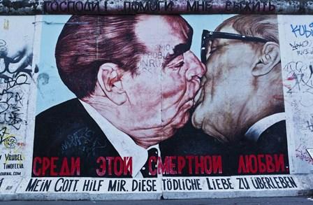 Berlin Wall 13 by Duncan art print