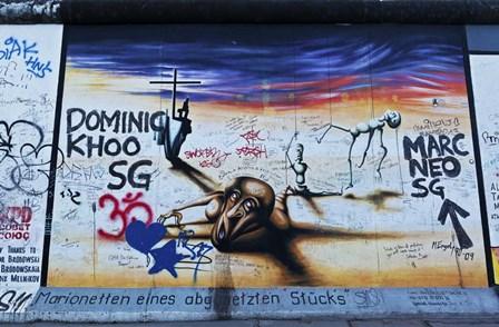Berlin Wall 14 by Duncan art print