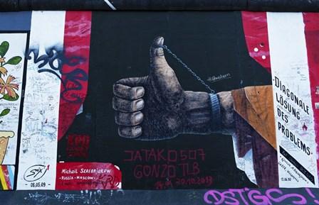 Berlin Wall 15 by Duncan art print