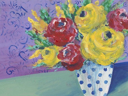 Fearless Floral I by Regina Moore art print