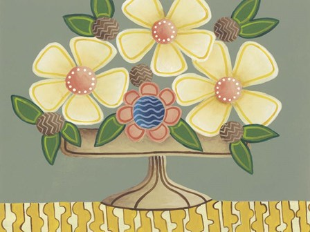 Full of Fun Bouquet I by Regina Moore art print