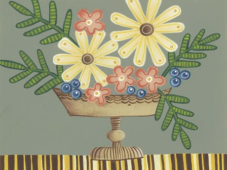 Full of Fun Bouquet II by Regina Moore art print