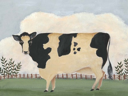 Folk Farm II by Regina Moore art print