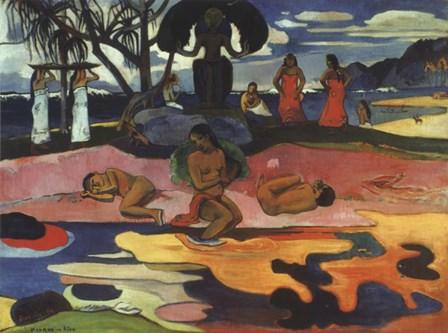Day of God, 1894 by Paul Gauguin art print