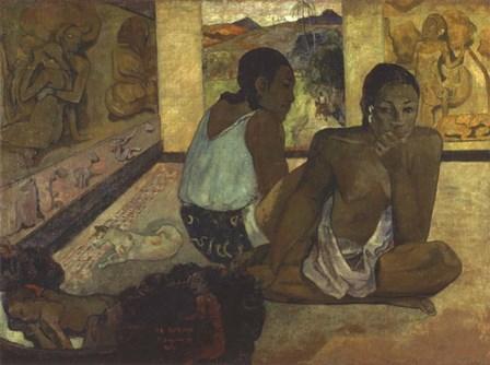 Te Rerioa by Paul Gauguin art print