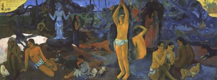 Painting, 1897 by Paul Gauguin art print