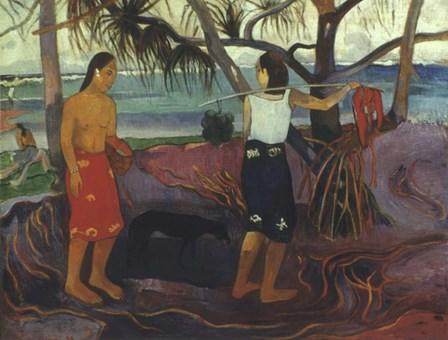 Pandanus, 1891 by Paul Gauguin art print
