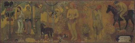 Faa Iheihe by Paul Gauguin art print