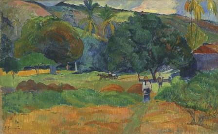 Le Vallon, 1892 by Paul Gauguin art print