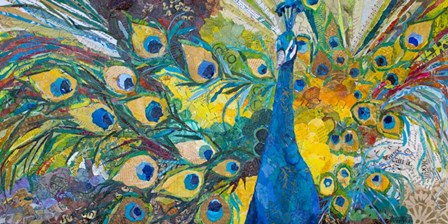 Percy Peacock I by Elizabeth St. Hilaire art print