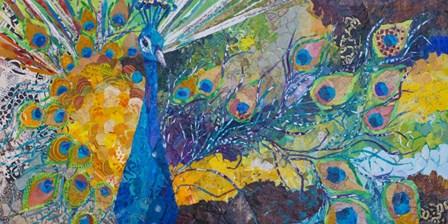 Percy Peacock II by Elizabeth St. Hilaire art print