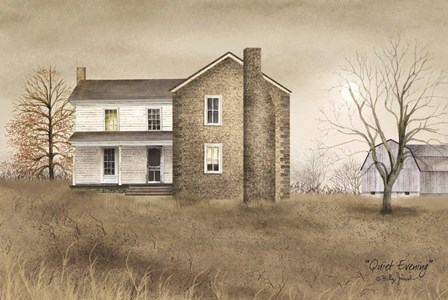 Quiet Evening by Billy Jacobs art print