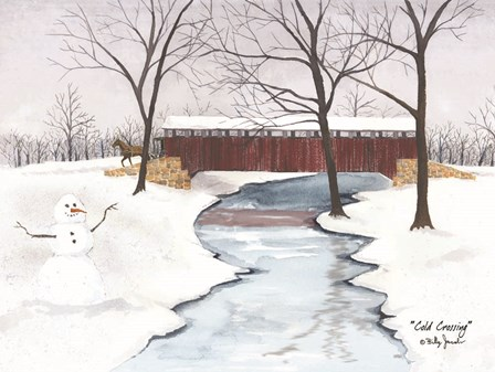 Cold Crossing by Billy Jacobs art print