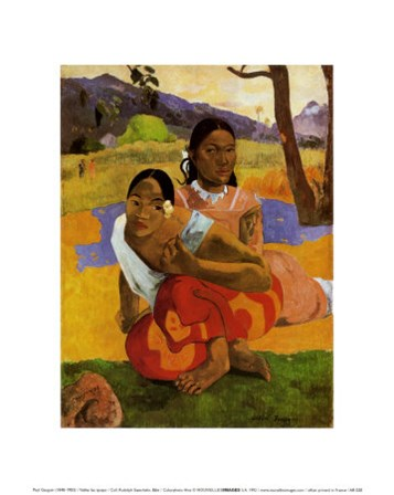 Nafea Faaipoipo (When are You Getting Married), c.1892 by Paul Gauguin art print
