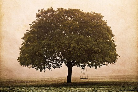 The Hopeful Oak by Debra Van Swearingen art print