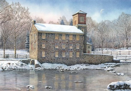 Brecks Mill by Nicholas Santoleri art print