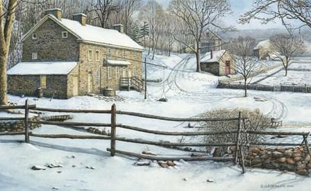 Colonial Plantation by Nicholas Santoleri art print