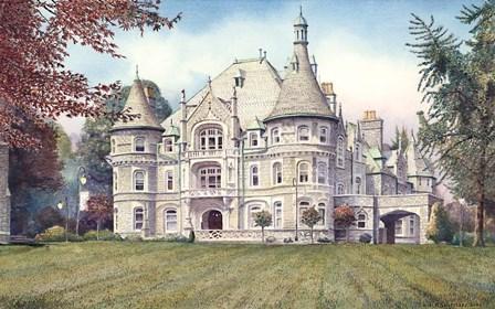 Rosemont College by Nicholas Santoleri art print