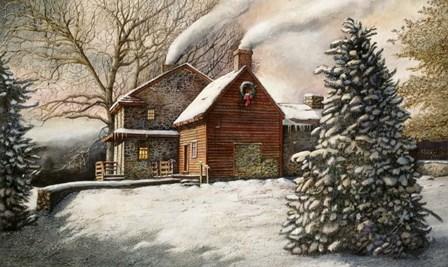 Brandywine Christmas by Nicholas Santoleri art print