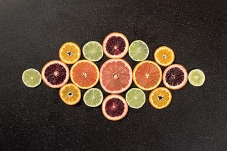 Citrus Drama III by Felicity Bradley art print