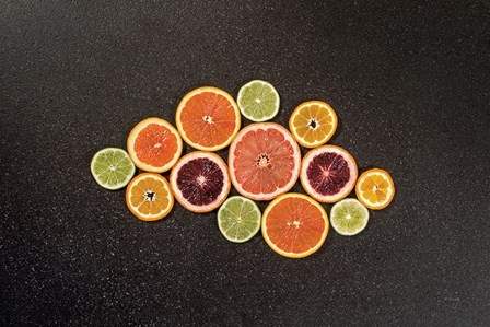 Citrus Drama I by Felicity Bradley art print