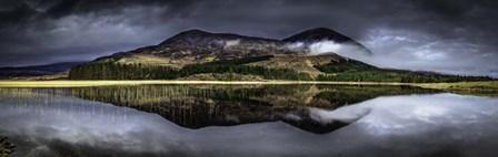 Glen Etive Panorama 2 by Duncan art print