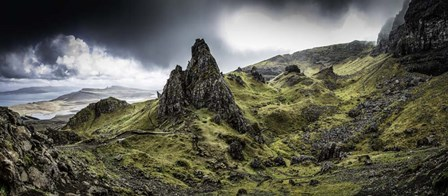 Old Man Of Storr Panorama by Duncan art print