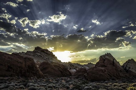 Valley Of Fire 3 by Duncan art print