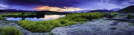 Teton Landscape by Duncan art print