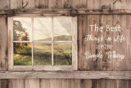 The Simple Things by Lori Deiter art print