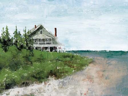 Beach Cottage Life by Marie-Elaine Cusson art print
