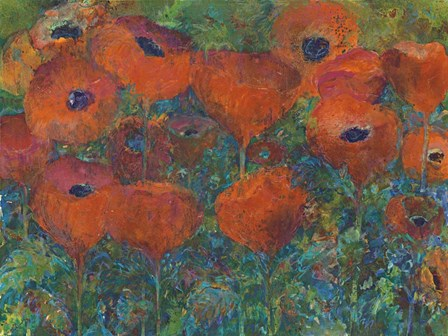 Poppies by Tara Funk Grim art print