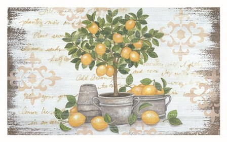 Lemon Topiary by Annie Lapoint art print