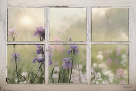 Framed Flowers by Lori Deiter art print