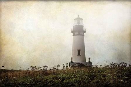 Lonely Lighthouse II by Debra Van Swearingen art print