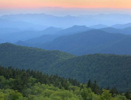 The Ridges of Cowee by Images in Nature art print