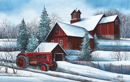 American Winter by Debbi Wetzel art print